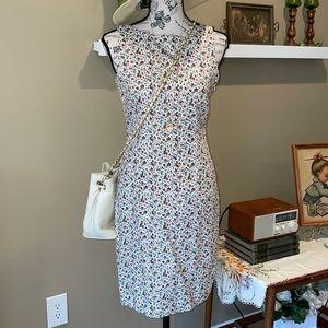Vintage esprit floral print dress